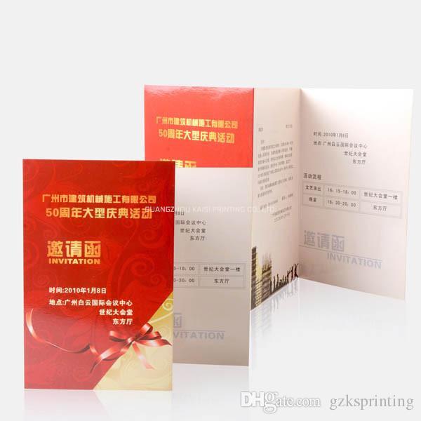 a4 a5 flyers printing in 128g 157g 200g art paper custom multi fold