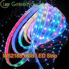 DC5V RGB LED 디지털 스트립 라이트 주소 지정이 가능한 유연한 스트립 라이트 키트 WS2812B LED 비바람에 견디는 스트립 조명 30LEDS / M 5M / Roll