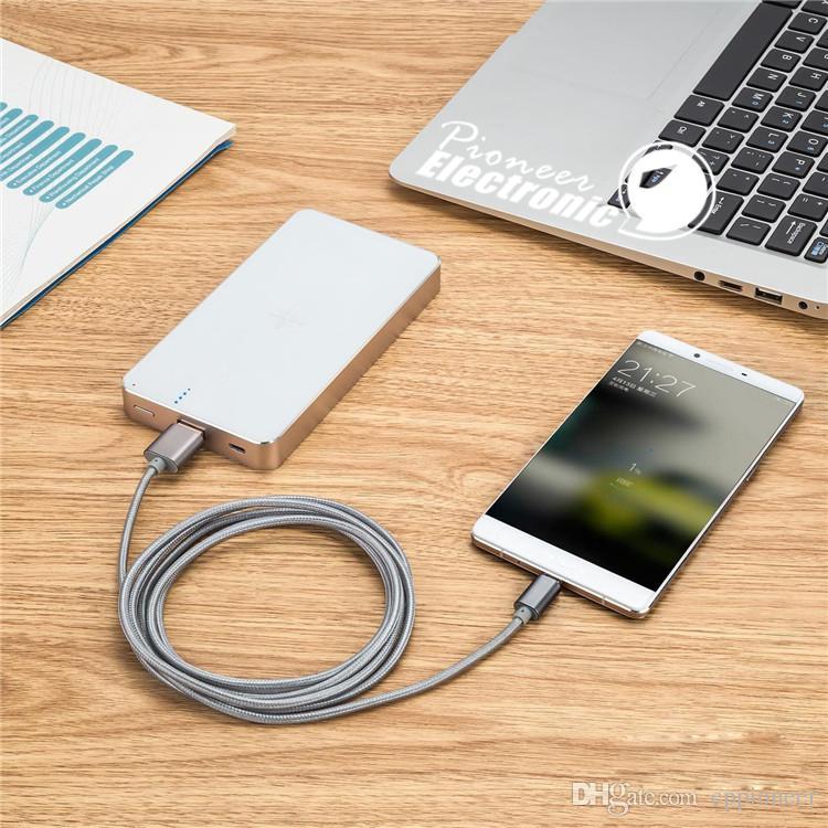 Tipo C Micro USB Cable Nota 3 4 Cable 3.0 Sincronización de datos Android Cargador Adaptador de cable Cableado para Samsung s5 s6 s7 edge