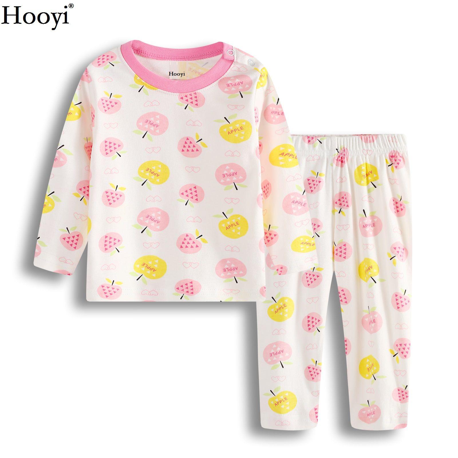 4dbc78ad3f5a2 ... Hooyi Worm Baby Girl Vêtements Ensembles Mode Bébés Pyjamas Vêtements  Costume Infantile T-Shirt Costume ...