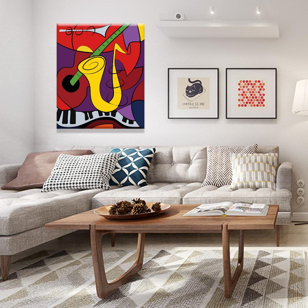 paintings for bedroom. 2018 The Women Of Algiers Picasso Version 0 Painting  Modern Wall Oil Art Bedroom Home Print On Canvas From Dafen 21 41 Dhgate Com