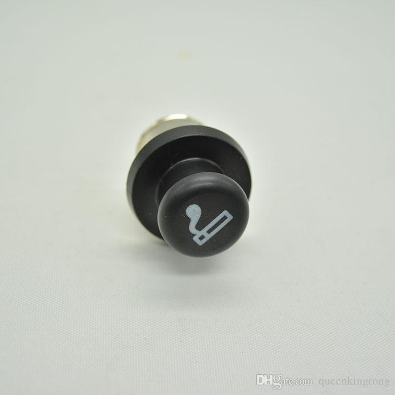 Metal Secret Stash Smoking Car Cigarette Lighter Shaped Hidden Diversion Insert Hidden Pill Box Container Pill Case Storage Box