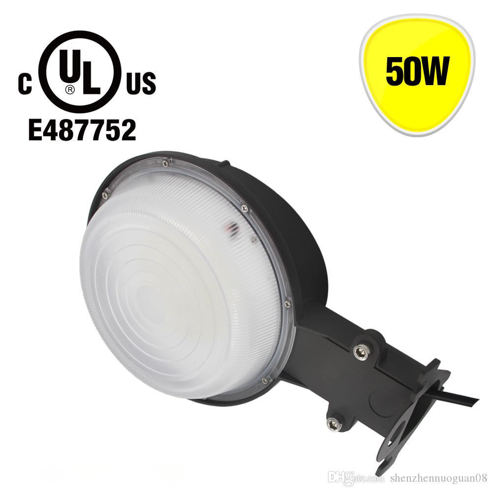 175w Mercury Vapor Replacement 50w Led Outdoor Barn Light Photocell Photocells For Lights Included Daylight Dust To Dawn Security Flood