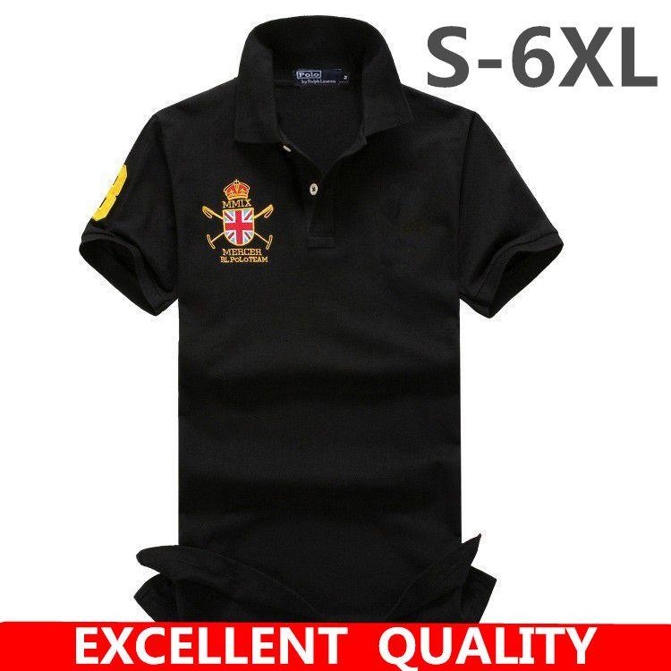 Grosshandel Sommer Neue Logo Stickerei Herren Polo Shirt Marken