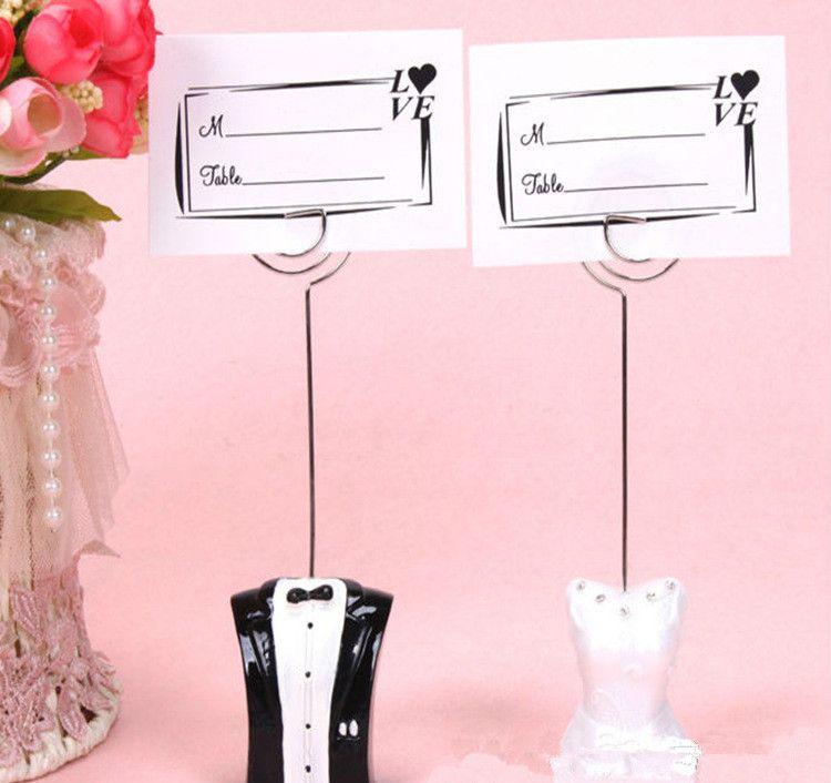Mini diseño de forma de corazón CHROME Place Tarjeta Tarjeta Tabla de boda Decoración Regalo Regalo de novia Show sólido Abrazadera de asiento en forma de corazón Suministros de boda