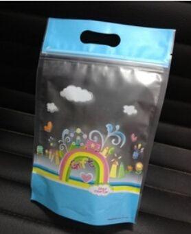 Yeni 15.3 cm * 23 cm ekmek bisküvi aperatif çanta Aperatif paketi çanta Şeker hediye Çerezler favor Paket plastik gıda torbaları 100 adet ücretsiz kargo