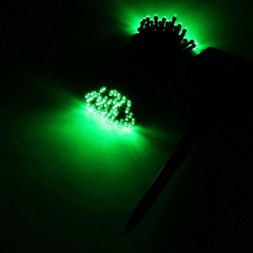 100 lampade da esterno a LED colorate a LED Luci da stringa a LED Fairy Holiday Christmas Party Ghirlande Luci impermeabili da giardino solare