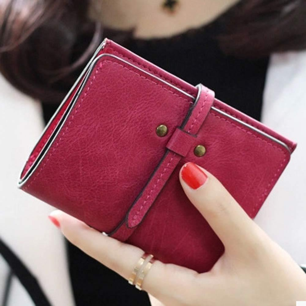 Wholesale Excellent Quality Women Short Wallets Ladies Small Wallet Coin  Purse Female Wallet Purses Money Bag Christmas Gift Leather Accessories  Womens ... ead66fce5e6