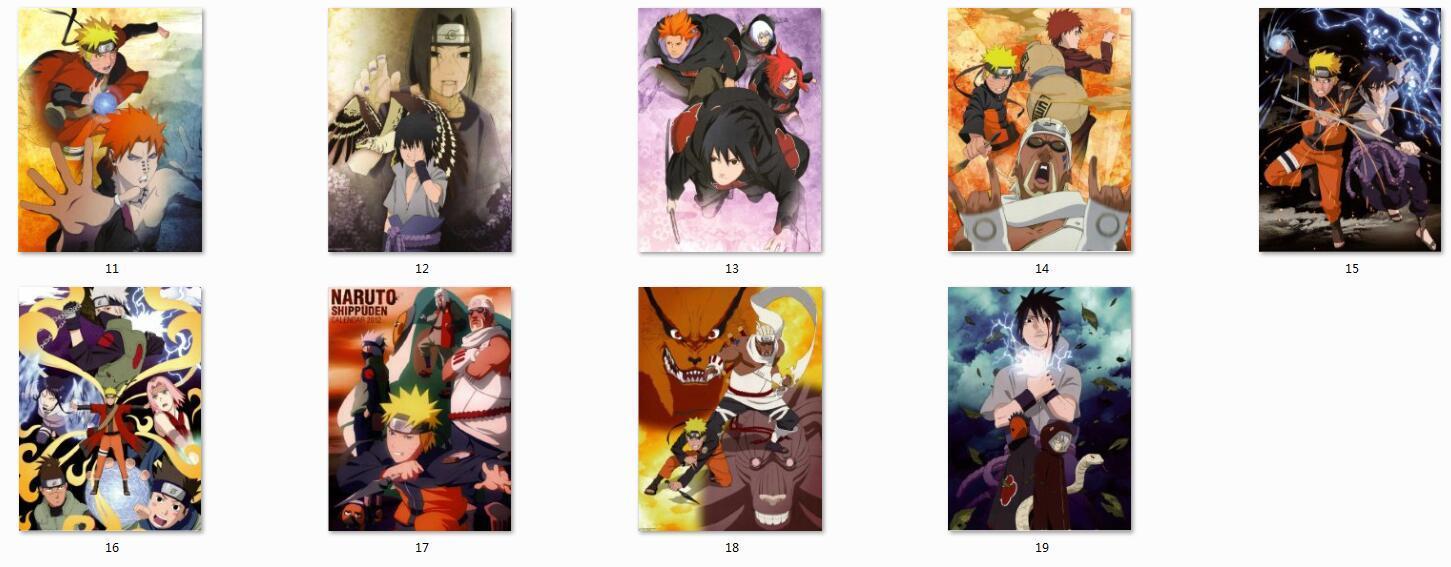 Brand-new 150x200cm Hot Anime Naruto Characters Sakura Haruno And Hinata  RH01