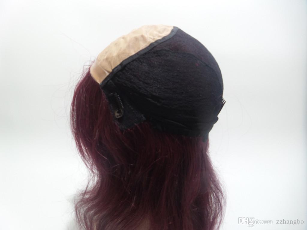 Volle Spitzeperücke Seidig Gerade Mit Pony Dichte 150% Brasilianisches Reines Menschenhaar 100% Glueless Lace Front Perücken Für Schwarze Frauen Gute Qualität