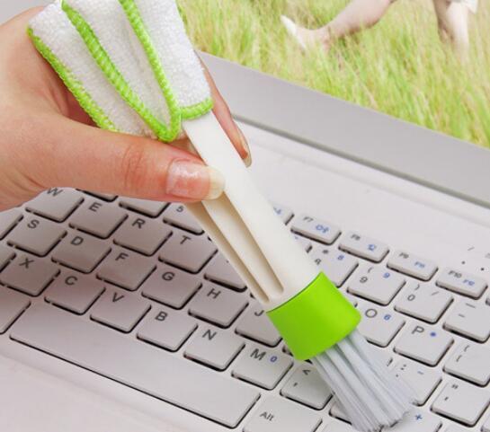 جديد وصول الجيب فرشاة لوحة المفاتيح الغبار جامع تكييف الهواء الأنظف نافذة يترك الستائر الأنظف المنفضة أدوات تنظيف الكمبيوتر