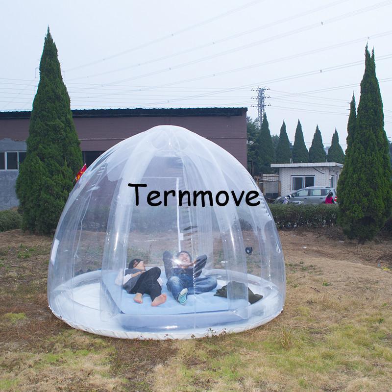 pvc garden inflatable tent4