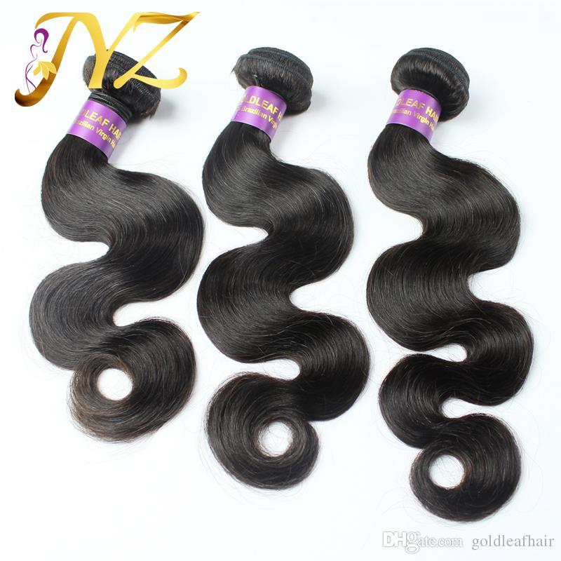 Malaysisches brasilianisches Jungfrau-Haar 13x4 volle Frontal-Spitze-Verschlüsse und Haar-peruanische Spitze Frontal gebleichte Knoten-Körperwelle mit 3 Bündeln Haar