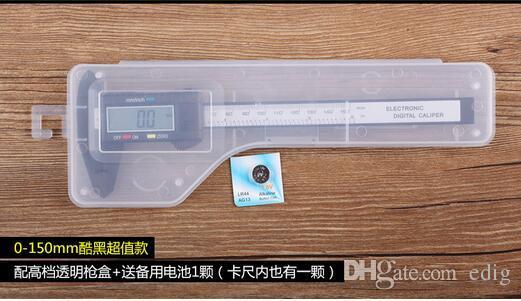 Fiber Composite Vernier6 inch 150 mm Carbon Digital Electronic Caliper Ruler