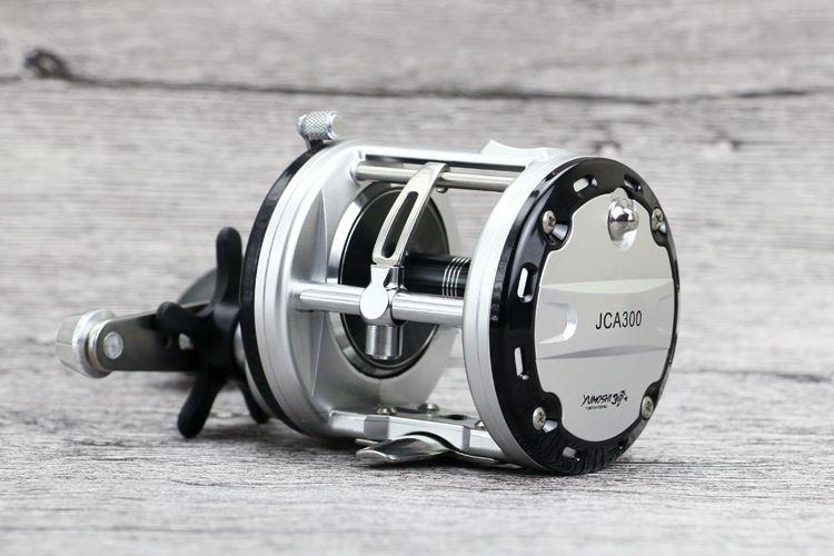 Traina Mulinello Pesca Pesca 12 + 1BB ruote a tamburo Carp Reels centrifuga freno Casting Mare Mulinello salata bobina di Baitcasting