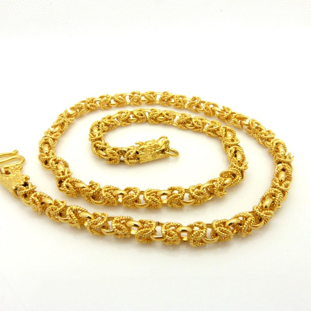 necklace necklaces mens smooth link lifetime luxury gold curb chain cuban of unique solid chains
