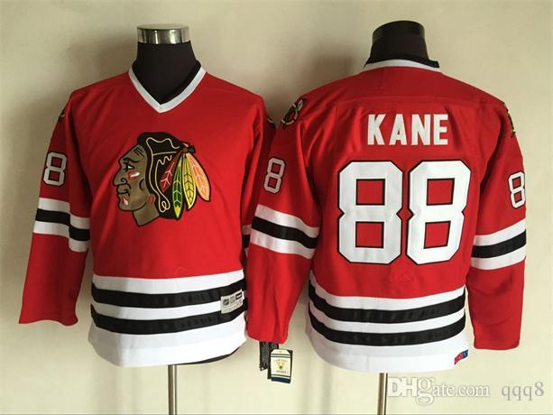 bf7287f4186 2016 Youth Kids CCM Chicago Blackhawks Ice Hockey Jerseys Cheap #88 Patrick  Kane Boys Jerseys Authentic Retro Jerseys From Qqq8, $27.35 | DHgate.Com