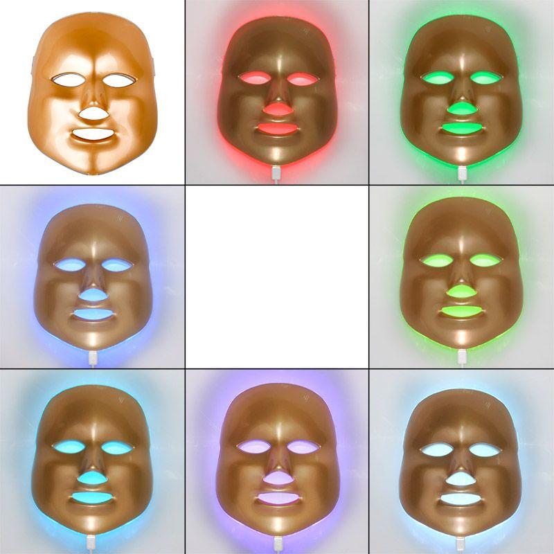 Korean LED Photodynamic Facial Mask Home Use Beauty Instrument Anti-acne LED Skin Rejuvenation Whitening Facial Machine