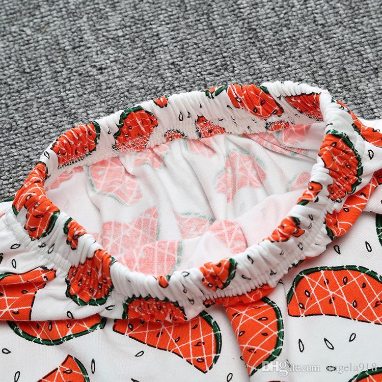 30 Design Kids INS Pants 2019 Summer Geometric Animal Print Pantalones cortos para bebés Pantalones de marca para niños Ropa de bebé Envío gratis E892