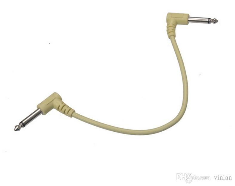 6шт х 30СМ гитарные эффекты педаль кабель гитарный усилитель аудио кабель гитарные партии музыкальные инструменты