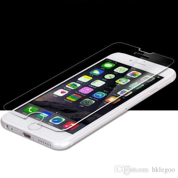Verre Trempé Protecteur D'écran Pour Iphone 7 6S Plus 5S 4S Samsung Galaxy S7 S6 S5 Note 5 LG G5 Sans Paquet