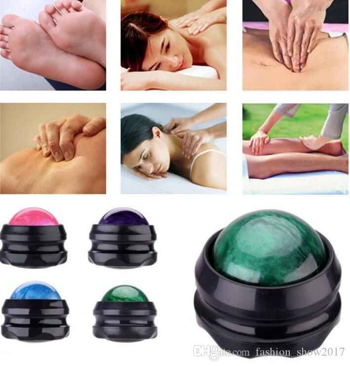Manual Massager Ball Back Roller Effective Pain Relief Body Secrets Relax Health Care Massage Roller Balls