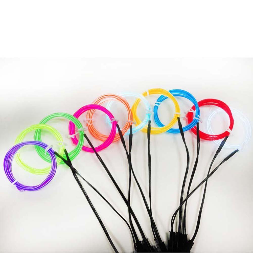 Wholesale 1/2/3/5m Neon Light Led Strip Glow Flexible El Wire Rope ...