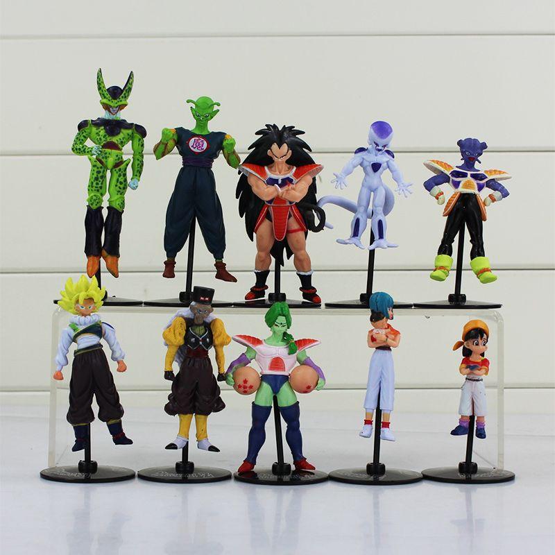 Dragon Ball Z Goku Gohan Roshi Piccolo Freeza PVC Action Figure Model Toys