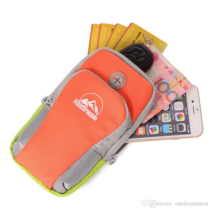 wholesale Sport Running Arm Band Phone Case For iPhone 7 6 6S Plus 5S For Samsung S8 S7 S6 Edge Plus Note 5 Jogging Package Pouch