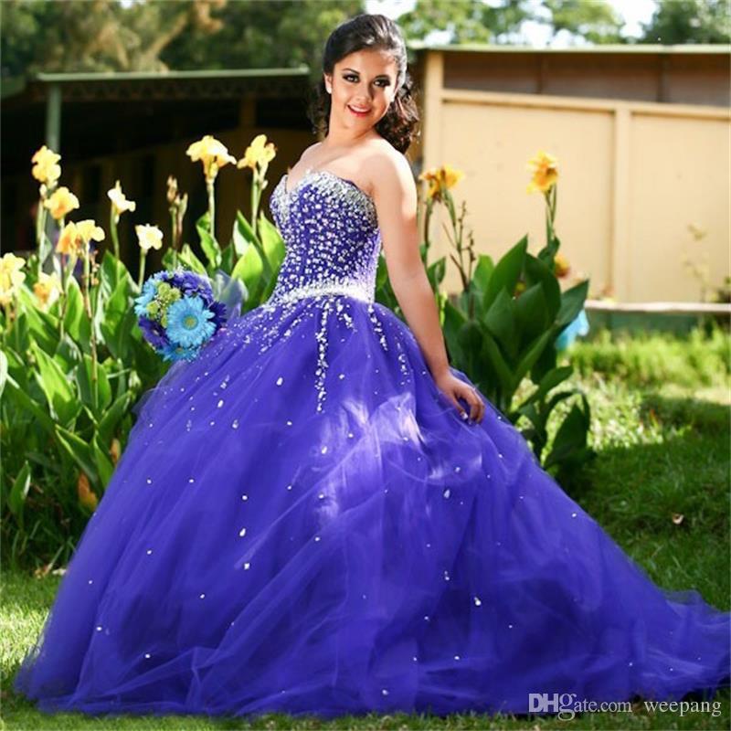 Großhandel Neues Design Regent Purple Quinceanera Kleid Für 16 Jahre ...