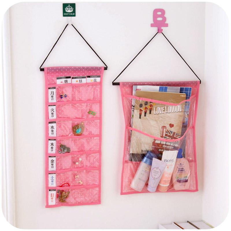 Wholesale2 Layer Or 21 Pocket Hanging Jewelry Organizer Space