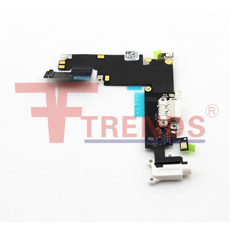 pour iPhone 6 Plus Dock Connector Port de charge USB et casque audio Jack câble Flex Ruban 100% testé de haute qualité Livraison gratuite