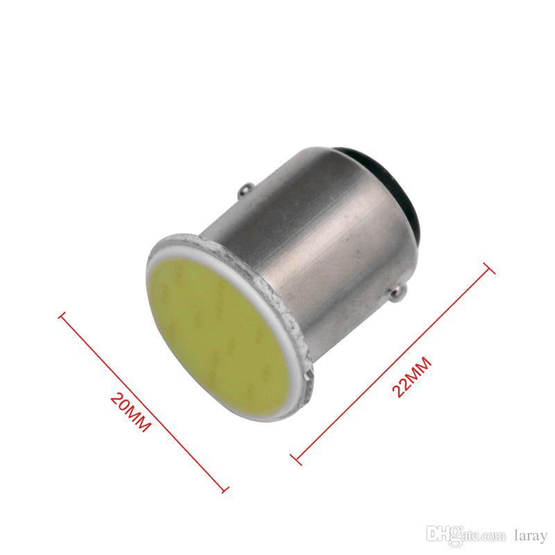 Auto COB Led P21W 1156 ba15s 12v Car lamp Turn Signal Reverse Lights RV Trailer parking Auto Led Car Bulbs
