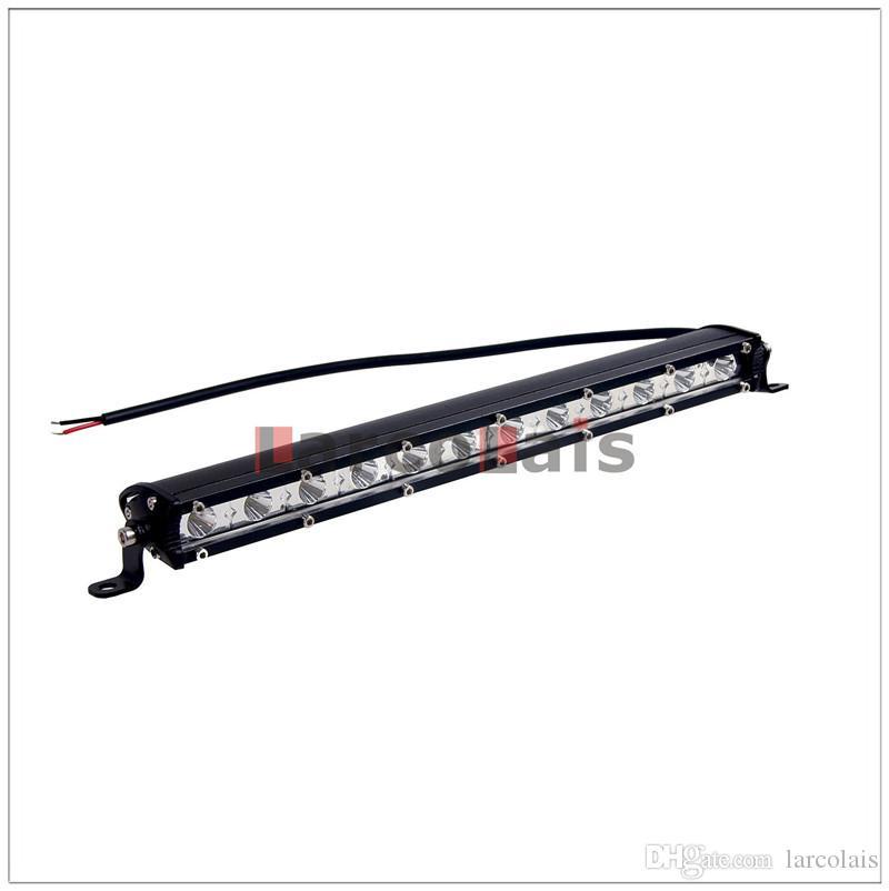 2 stücke 13 '' Zoll 36 Watt Slim LED Arbeitslicht Bar für Boot Auto Lkw 4x4 SUV ATV Offroad Nebelscheinwerfer