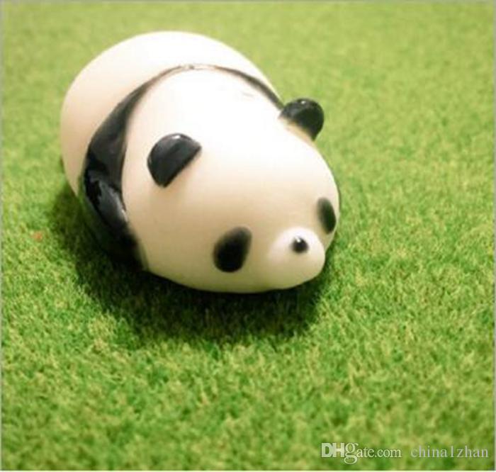 Мини squeeze игрушка мягкая кошка Панда ущипнуть куклы Каваи выжать эластичный животных исцеление снятие стресса игрушки палец DHT169