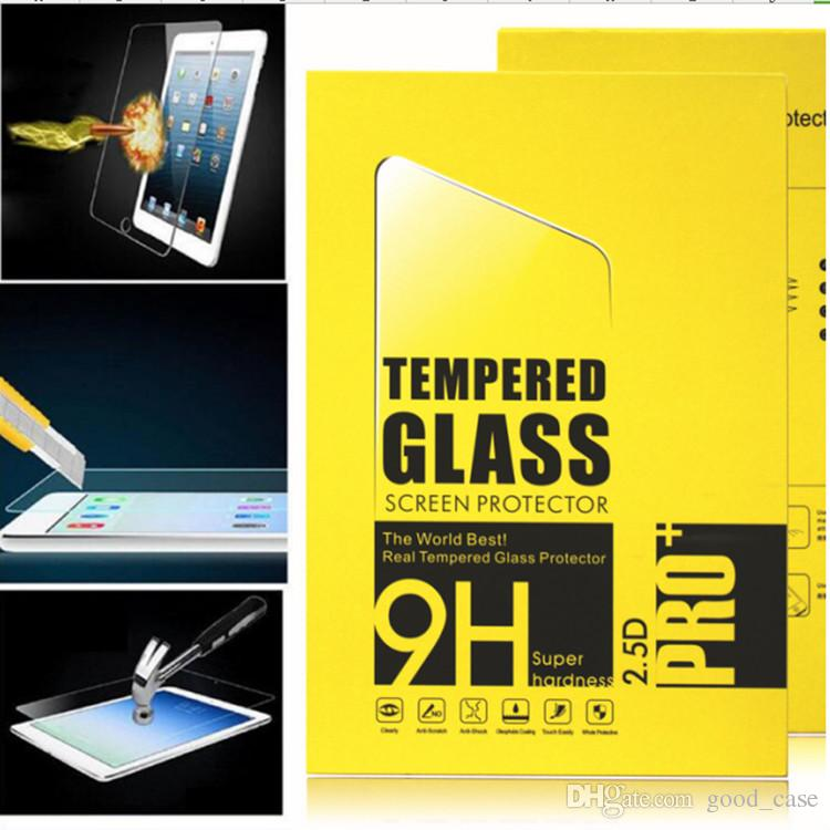 For ipad pro mini 3 4 9H 0.4MM Tempered Glass Screen Protector Film Explosion-Proof Screen Guard with boxes for ipad 2 3 4 5 air pro Best