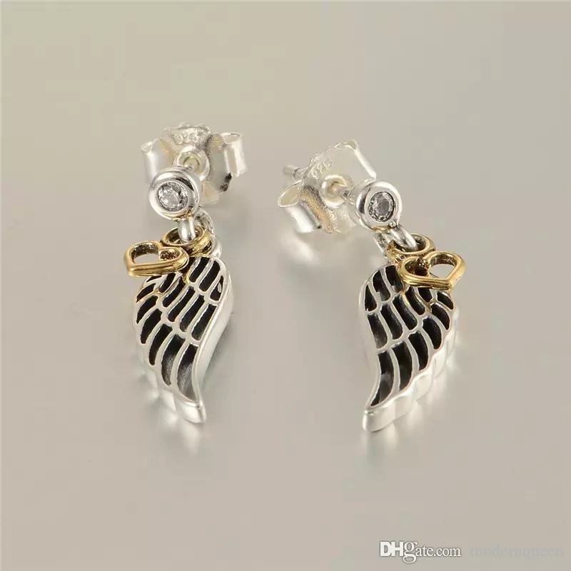 4f40438eb 2019 Heart Earrings 925 Sterling Silver Love And Guidance Fits For Pandora  Style Jewellery H9ale From Modernqueen, $47.63 | DHgate.Com