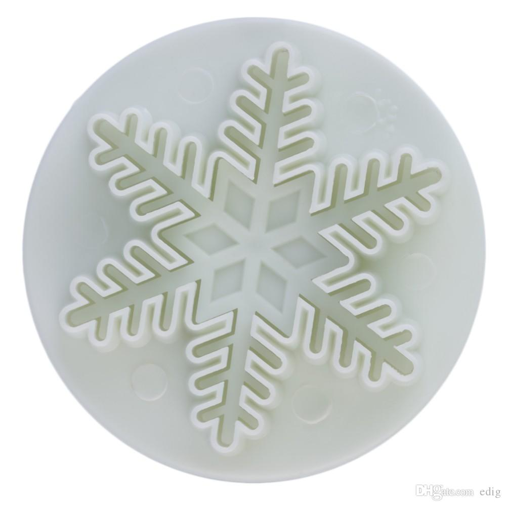 Snowflake Plunger Mold Cake Decorating Tools Cake Tools Cookie Cutters Fondant Cake Decorating Sugar Craft Cutter