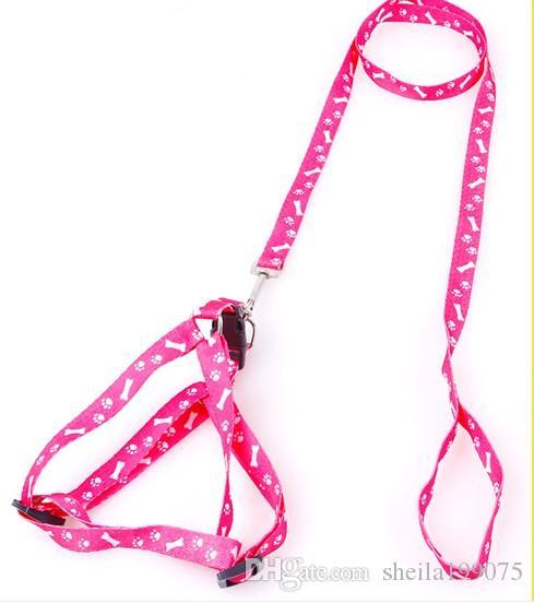 Топ мода специальное предложение в любое время большие поводки нейлон собаки ошейник Цзянь лучшие продажи полезная собака поводок жгут и воротник для безопасности