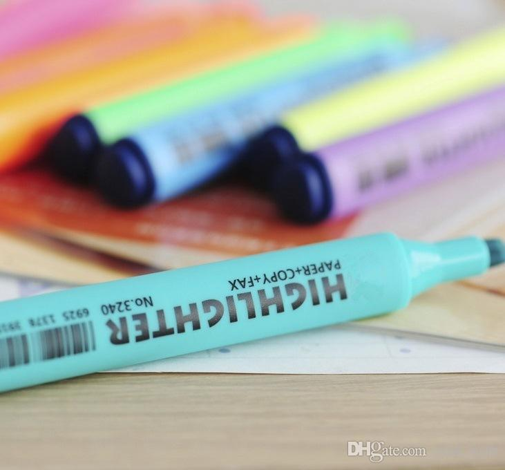 Manga Sketch Marker Pen Art Marker Pen Five Generation 5 Highlighter Alcohol Oily Mark Pen Art Supplies paint brush 7