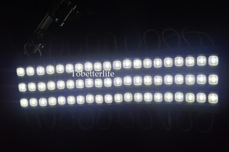 الشحن مجانا الصمام وحدة ضوء مصباح SMD 5730 IP65 للماء وحدات الصمام لرسائل تسجيل الضوء الخلفي 3 الصمام DC 12V