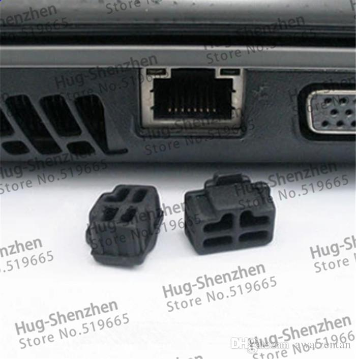 wholesale RJ45 dust plug /dust cover for laptop/computer/Router with
