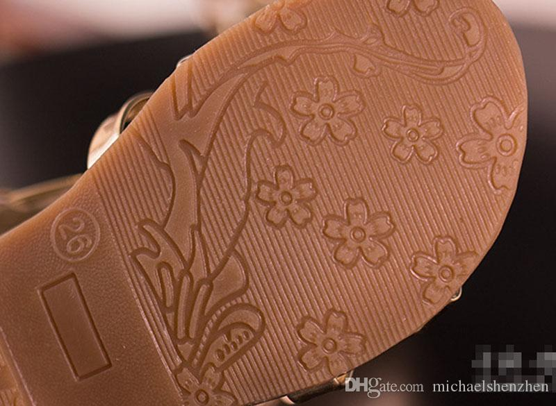 3 Couleurs Enfants Roma Gladiator Sandals Enfants Fille Summer Shoe Haute Led Bottes Sandales Sliver Gold Noir chaussures Taille 26-35 Pick Sizes B001
