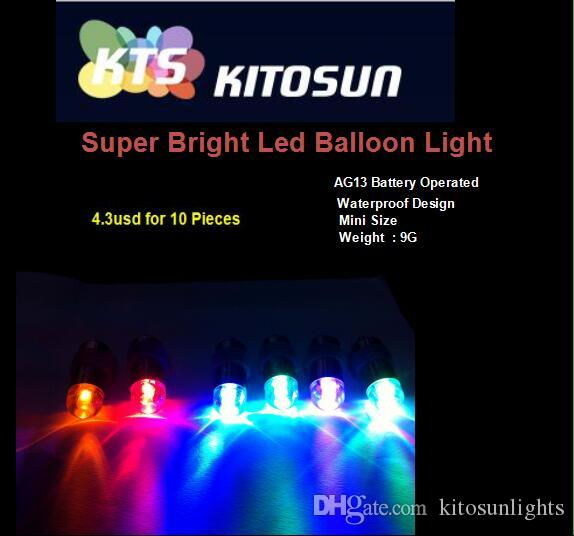 Colorful LED Mini Lamps Waterproof Balloon Lights for Paper Lantern Party Wedding Centerpieces Decoration Vases