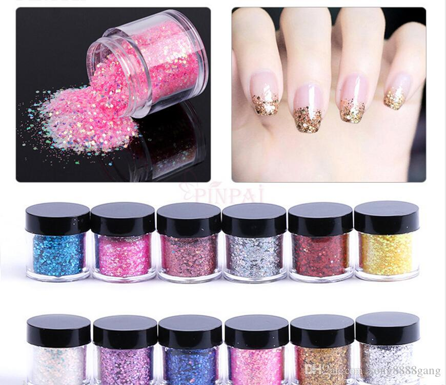 N2 F347 Nail Art Sequins Gitter Wholesale Manicure Decoration ...