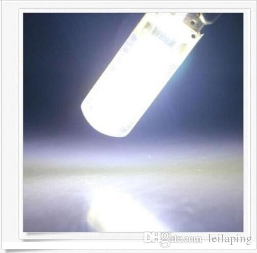 100 PZ T10 158 194 168 W5W COB 20SMD Gel di silice Led Car Interior Door Light Bulb NUOVO