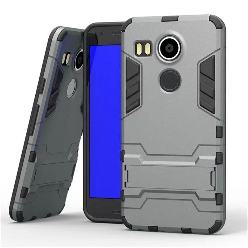 Funda para Huawei Nexus 6P Estuche de plástico blando de silicona blanda para LG Google Nexus 5x H798F H790 H791 5.2 '' Soporte de teléfono Capa