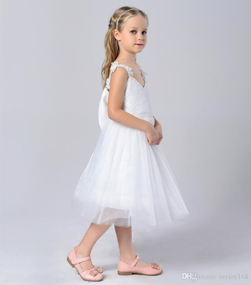 Adult Baby Clothes Flower Girl Dresses Wedding Party Dresses Girl