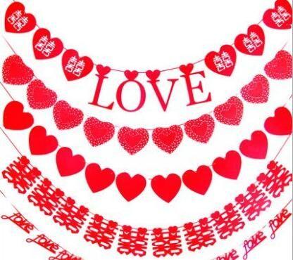 Brand new Kreative Kreative Nonwovens-Liebhaber Liebe Korean Kerze Brautkleider Große BF002 Banner Flaggen, um so Ihre Bedürfnisse mischen