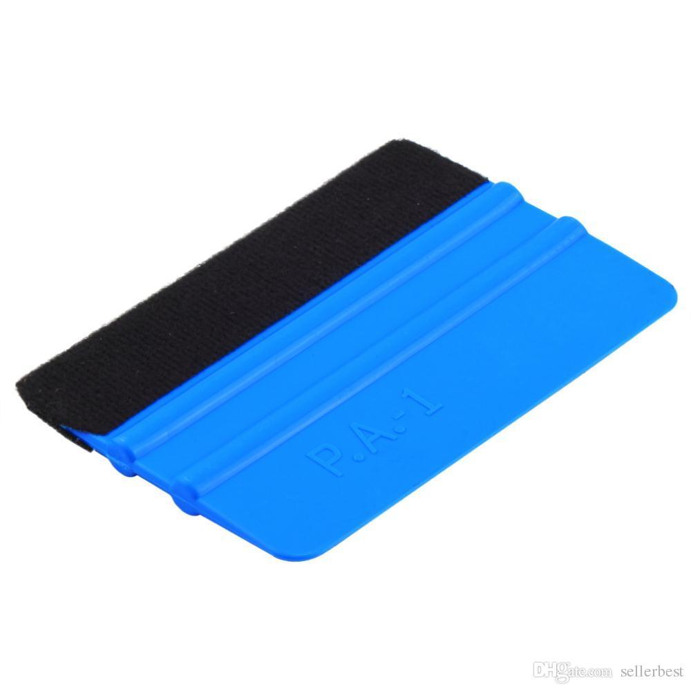 Auto-Vinylfolien-Verpackungswerkzeuge 3m Rakel mit Filz-Weichwandpapier-Schaber Mobile Displayschutzfolie installieren Rakel-Werkzeug